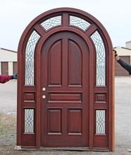 MAHOGANY WOOD ENTRY DOORS