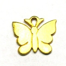 simple Butterfuly Gold Plated Charm,FASHION WOMEN JEWELRY GIFT