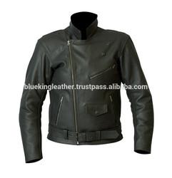 Best Quality 100% Genuine Leather Jacket Brando Biker Motorcycle