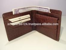 2015 New Crocodile Leather Men's Wallet/ Men's Leather Wallet Hot Sale