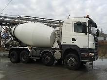 Scania R380 8x4 Concrete Mixer Truck (Left Hand) - Internal stock No.: 26408