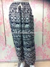 Thai Elephant rayon pants Best selling