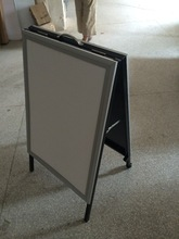 stainless steel A frame board for shop & market