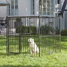 Laurelview Black Dog Kennel, 5' L x 5' W x 5' H