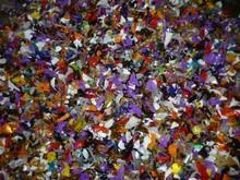 GL mixed color PET flakes