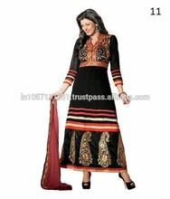 Pakistani Long Frock Design   Beautiful Suits Frock For Girls