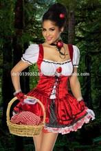 Nueva Sexy de la mujer de Little Red Riding Hood disfraz