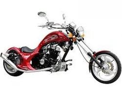 250cc Custom Built Scorpion Chopper Motorcycle Street Legal