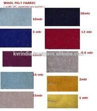 woolen felt fabric stocklots manufacturers