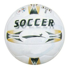 High quality cheap rubber football/rubber soccer1 Very cheap PVC training football entertainment, school sports ball