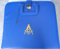 Heavy cotton twill masonic aprons with embroidery logo (Masonic Apron)