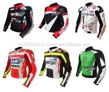 Motorcycle Motorbike Leather Jacket Professional Racing Jackets