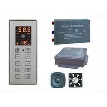 3KW Steam Generator Sauna Bath Home SPA Shower W/ CD Input FM Radio