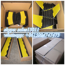 traffic road safety products durable rubber speed ramps