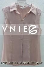 custom blouse women shirt model