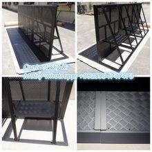 2015 remote control plastic +aluminium automatic car parking lot barriers