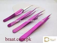 eyelash extension tweezers /ceramic tweezers / eyebrow tweezers