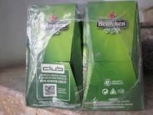 ....100%....... Heinekens Beer 250ml/ 330ml Can (24 Per Case)
