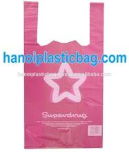 top quality custom made shopping plastic bag with logo