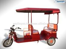 4 seats passenger auto three wheel electric rickshaw