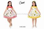 Indian Fashion 2015 Cotton Girls Frock Design Children Dresses