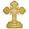 bordado cruz do altar
