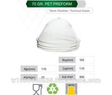 Birpet Pet Jar Preform 110 mm 70 gr