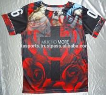 Mimaki Plotter sublimated printed t-shirts