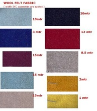 fabric stocklot made of silk and wool