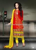 GujaratiCotton Dress Material(Gelz)