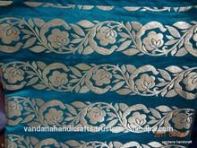 Gazzi Zari Old Sari fabric from manufacture