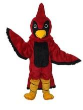 Red Hawk Eagle Goshawk Mascot Costume