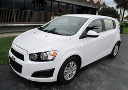 USED CARS - CHEVROLET SONIC LT - REAR (LHD 819433)