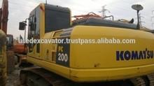 Used Komatsu Excavator Second-hand PC200-8 for sale