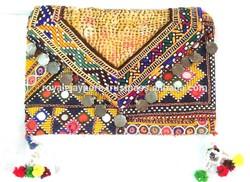 Indian Handmade Embroidery/Patchwork Vintage Designer Banjara Bag