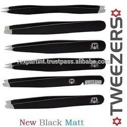 Tweezerman & Haryali Pro Eyebrow Tweezers, Hair Tweezer, Eyebrows , Slanted