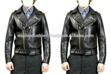 slim fit ucuz deri ceket erkek