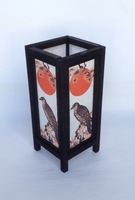 Asian themed sa paper table lamp from Chiang Mai for wholesale