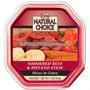Natural Choice Beef & Potato Stew Entree, 3.5 oz - 24 Pack