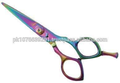 Forbici del barbiere/taglio dei capelli scissor, infuso multiclolor,