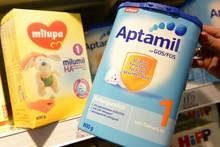 Aptamil bebé leche, Nutrilon fórmula de leche de bebé, Hipp fórmula de leche de bebé