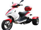 30% New Year Sales Discount for 50cc Differential Gear Equipped Trike Gas Motor Scooters