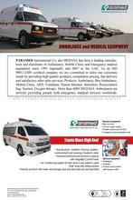 2015 Toyota Hiace High Roof Ambulance