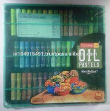 Crayons :: Oil Pastels :: 50 Shades :: Camlin Kokuyo :: Camel Oil Pastels :: 50