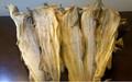Noruega secos caldo de pescado, el bacalao, haithe, eglefino, secado de caldo de pescado cabezas