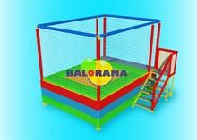 junior single trampoline, 3.6 meters trampoline, commercial trampoline