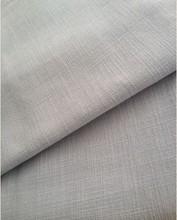 100% cotton curtain fabric (linen effect) Flame retardant