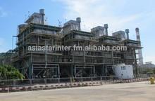 COMPLETE SET USED GAS TURBINE + STEAM TURBINE CO GENERATION 740 MW