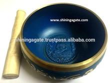 Tibetan Singing Bowls Size 6 inch :Wholesale Brass Singing Bowls