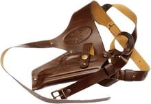 Shoulder leather gun holster 1011